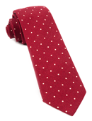 Ties - Primary Dot - Red