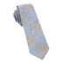 Blue Printed Flannel Checks Tie - Blue Printed Flannel Checks Tie primary image