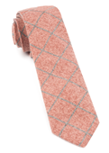 Ties - Printed Flannel Pane - Orange
