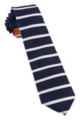 Ties - Extended Stripes - Orange