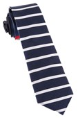 Ties - Extended Stripes - Red