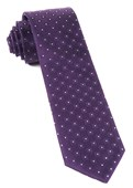 Ties - Four Sided - Eggplant