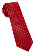 Ties - Four Sided - Red