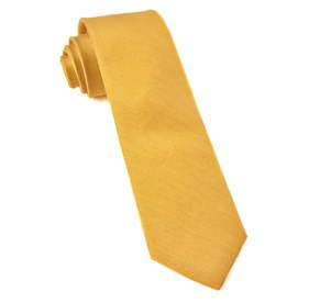 Yellow Linen Row ties