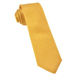 linen row yellow ties