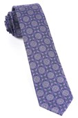 Ties - Medallion March - Wisteria