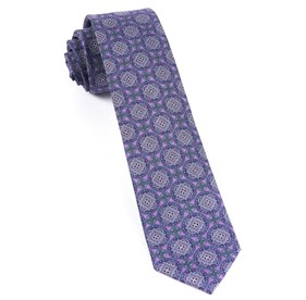 Medallion March Wisteria Ties