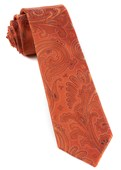 Ties - Paisley Phase - Orange