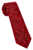 Ties - Paisley Phase - Red