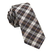 Ties - Plaid Outlook - Brown