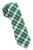 Ties - Plaid Outlook - Kelly Green