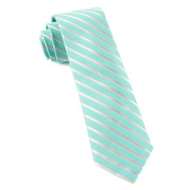 Aisle Runner Stripe Mint Ties