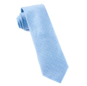 Destination Dots Light Blue Ties