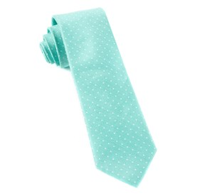 Destination Dots Mint Ties