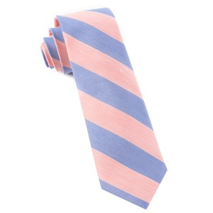 rsvp stripe peach ties