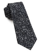 Ties - Bracken Blossom - Black