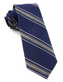 Ties - Detour Stripe - Navy