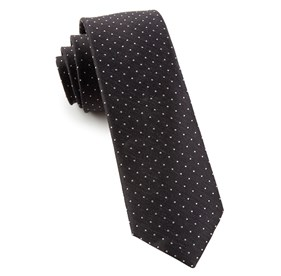 Black Rivington Dots ties