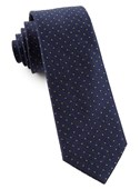 Ties - Rivington Dots - Navy