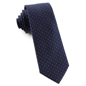 rivington dots navy ties