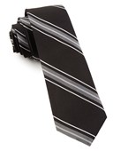 Ties - Detour Stripe - Black