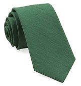 Ties - Linen Row - Grass Green