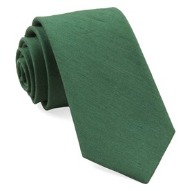 Linen Row Grass Green Ties