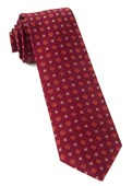 Ties - Midtown Medallions - Burgundy