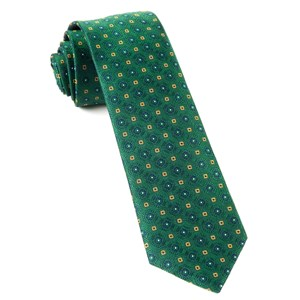 midtown medallions hunter green ties