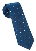"Ringside Dots - Classic Blue - 2.5"" x 58"" - Ties"
