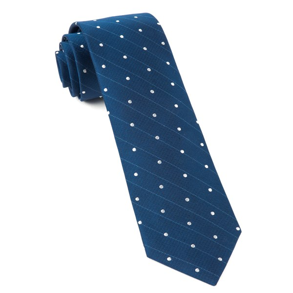 Classic Blue Ringside Dots Tie