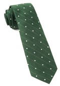 Ties - Ringside Dots - Grass Green