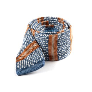 journey stripe light cornflower ties