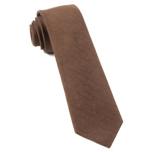 linen row chocolate brown ties