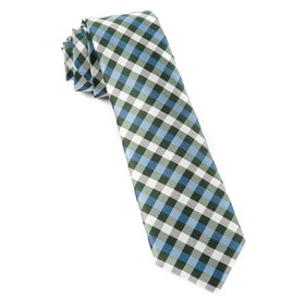 Green Polo Plaid ties