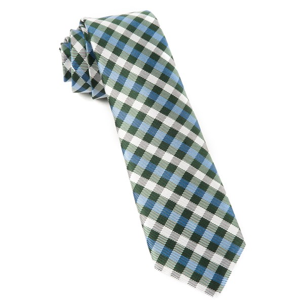 Green Polo Plaid Tie