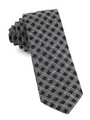 Ties - Cement Checks - Black