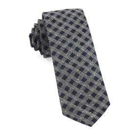 Navy Cement Checks ties