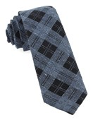 Ties - Dwelling Plaid - Serene Blue