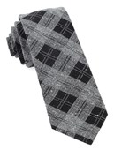 Ties - Dwelling Plaid - Grey