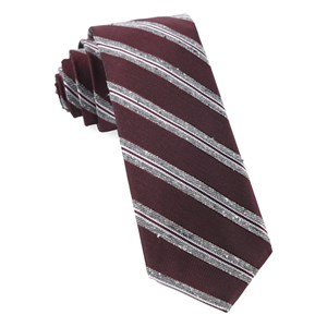 edison stripe burgundy ties