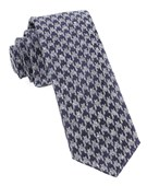 Ties - Houndstooth Thrill - Eggplant