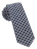 Ties - Houndstooth Thrill - Navy