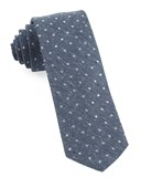 Ties - Knotted Dots - Serene Blue