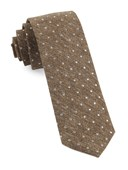 Ties - Knotted Dots - Brown