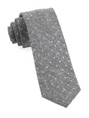 Ties - Knotted Dots - Grey