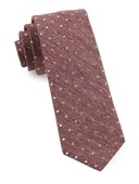 Ties - Knotted Dots - Raspberry
