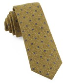 Ties - Medallion Ridges - Mustard