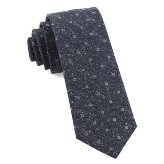 medallion ridges navy ties
