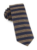 Ties - Meter Stripe - Brown